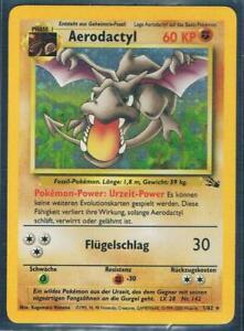 Pokemon Sammelkarte Aerodactyl 1/62,Holo,Deutsch