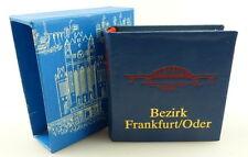 MINI LIBRO: distretto di Francoforte/Oder, casa editrice tempo nell'immagine Dresda 1988/r626