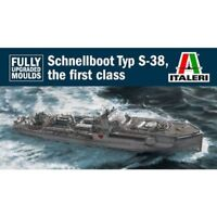 Italeri 5620 1/35 WWII German Schnellboot Typ S-38  Boat Kit
