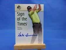 SP Authentic Golf 2014 Sign of the Times Autograph AUTO Hale Irwin