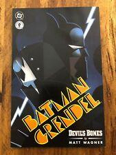 Batman / Grendel #1 - Devil's Bones (Jun 1996, DC / Dark Horse) COMBINE SHIPPING