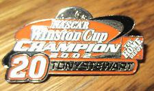**** 2002 Nascar Winston Cup Champion * #20 Tony Stewart * Home Depot Pin ****