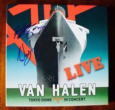Van Halen Signed Tokyo Dome Lp Box Set 180 Gram Vinyl Eddie & Wolfgang Van Halen