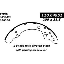 BRAND NEW FDP 495 REAR DRUM BRAKE SHOE SET FITS VEHICLES ON CHART