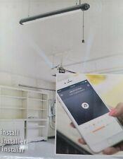 NEW Lithonia Lighting 4' Bluetooth Speaker and LED Shop Work Light