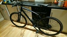 Specialized Crosstrail Sport Disc Hybrid Bike in black frame size large.
