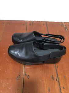 Camper Black Leather Shoes 40