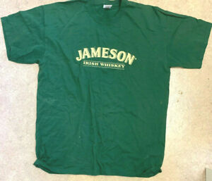 JAMESON IRISH WHISKEY St Patrick's Day T-SHIRT 2005