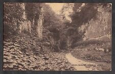 Postcard - View of Lover's Leap, Buxton. Stamp/postmark 1914