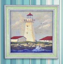 Wall Painting Picture Canvas Wooden Frame Wall Art Modern Design -Lighthouse