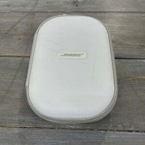 Bose Travel Compact Carry Case for Headphones Genuine Authentic White Gray