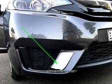 2 Chrome Foglight Foglamp Surrounding Trim Garnis S for Honda Jazz  FIT GF 14-17