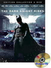 DVD : BATMAN : THE DARK KNIGHT RISES en Coffret collector 2 DVD - Christian Bale
