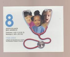 Canada 2004 Montreal Children's Hospital Booklet MNH #BK 290 $10