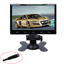 HD 9'' Ultra Thin 800x480 TFT LCD Color Audio HDMI VGA Car Rear View Monitor