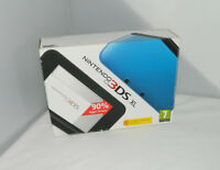 Boxed Nintendo 3DS XL Blue & Black Console + 4GB SD card + CASE + WARRANTY (A83)