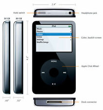 Apple iPod 5.5 2Tb + 65hrs battery theMost advanced Memory, no aproblematic Ssd