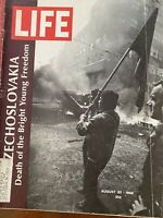 Life Magazine August 30, 1968 Czechoslovakia - The Mafia Mob - Paris Fashion