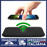 Caricatore wireless tappetino per ricarica wifi per iphone samsung HUAWEI 🇮🇹Ok