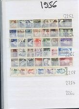 200617).............1956   complet ...TIMBRES LUXES **  sauf 3 charniere..