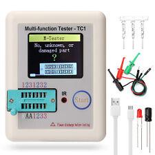 Lcr-Tc1 Transistor Tester Color Npn Pnp Fet Diode Capacitance Meter Scr Battery