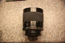 Tamron SP 500mm 1:8 mirror lens for camera SLR / DSLR (M42 or Nikon Ai adapter)
