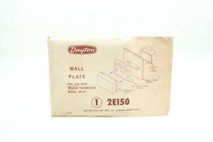 Dayton 2E150 Thermostat Wall Plate 2e137