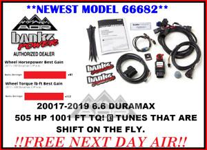 Banks Derringer Tuner & switch for 2017-2019 Chevy/GMC 6.6L Duramax L5P 66682