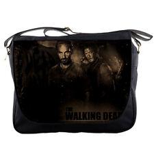 School Messenger Bag Walking Dead Rick Grimes Shoulder Travel Notebook Bags