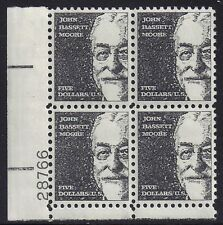 usa-united états 1966 $ 5 frais d'envoi John Bassett Plus Scot 1295 Control bloc