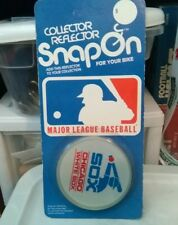 VINTAGE 1970s CHICAGO WHITE SOX BICYCLE REFLECTOR,NEW OLD STOCK.