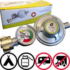 Régulateur de pression 2017 50mbar + Manomètre Jauge carburant Soupape sécurité