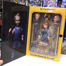ULTIMATE CHUCKY figure CHILD'S PLAY charles lee ray GOOD GUYS 4-inch scale NECA
