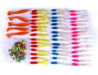 100pcs Lot Box Fishing Lures Mixed Soft Lure Jig Hooks Soft Baits Fishing Tackle