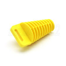 Yellow Exhaust Muffler Wash Plug for Suzuki DR-Z400/S/E DRZ400SM 650 DR350 DR650