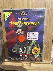 Bananas (DVD, 1992) Region 4 Rare Ex-rental