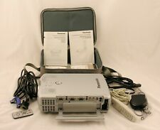 Panasonic PT-L711U LCD Projector with ET-RM100 wireless remote control