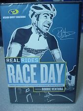 NEW CycleOps REAL RIDES RACE DAY DVD Workout Video With Robbie Ventura L@@K !