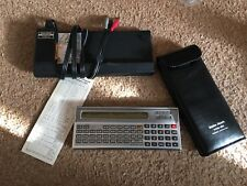 Radio Shack Tandy Vintage TRS-80  Model PC-1 With Cassette Interface