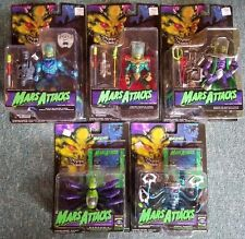 1996 TRENDMASTERS MARS ATTACKS 5 FIGURE SET OVERLORD COMMANDER DOOM ROBOT S37