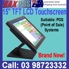 "NEW SAXPOS 150S 15""Inch LCD TFT TOUCH SCREEN MONITOR FOR POINT OF SALE SYSTEMS"