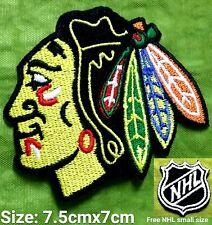 Chicago Blackhawk  NHL Hockey  Sport Logo iron,sewing,Patch,decorate on Fabrics