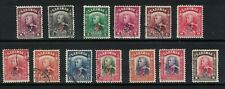 sarawak stamps - 1947 colony issues - fine used -GR overprints on Charles brooke