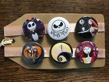The Nightmare Before Christmas - Pin Badge Set