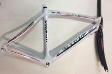 Telaio bici corsa carbonio Saccarelli Fire Speed 52,5 carbon road bike frame
