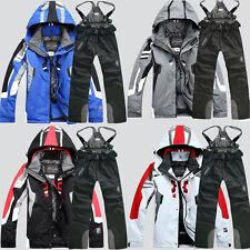Waterproof Sport Men's Winter Ski Suit Jacket Coat + Pants Clothing Snowsuit Hot