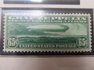 "US Airmail Stamp Scott #C13 ""Graf Zeppelin"" MNH-VF (b)"