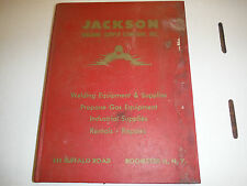 1950s Jackson Welding Supply Catalog Rochester NY 222 Pages illustrated Hardcovr
