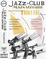Various Jazz-Club Mainstream Trombone CASSETTE ALBUM JAZZ Verve Swing Big Band