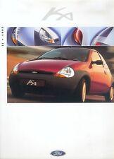 Ford Ka Prospekt 8/97 brochure 1997 Auto PKWs Deutschland Broschüre Autoprospekt